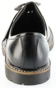 Bergheimer Trachtenschuhe Haferlschuhe schwarz Leder Herren Schuhe Goisern – Bild 4