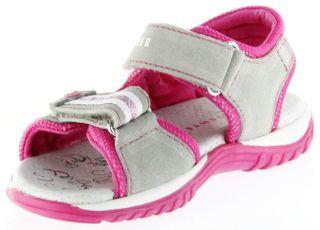 Richter Kinder Sandaletten grau Velour Neopren Mädchen Schuhe 5106-141-6101 Motion – Bild 8