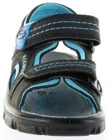 Richter Kinder Sandaletten Outdoor black Lederdeck Jungen-Schuhe 8101-141-9903 Adventure – Bild 9
