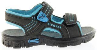 Richter Kinder Sandaletten Outdoor black Lederdeck Jungen-Schuhe 8101-141-9903 Adventure – Bild 2