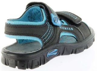 Richter Kinder Sandaletten Outdoor black Lederdeck Jungen-Schuhe 8101-141-9903 Adventure – Bild 3