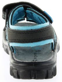 Richter Kinder Sandaletten Outdoor black Lederdeck Jungen-Schuhe 8101-141-9903 Adventure – Bild 4
