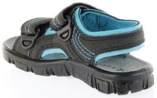 Richter Kinder Sandaletten Outdoor black Lederdeck Jungen Schuhe 8101-141-9903 Adventure – Bild 5