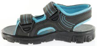 Richter Kinder Sandaletten Outdoor black Lederdeck Jungen-Schuhe 8101-141-9903 Adventure – Bild 7