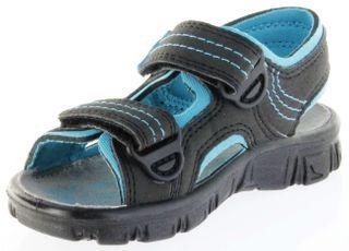 Richter Kinder Sandaletten Outdoor black Lederdeck Jungen-Schuhe 8101-141-9903 Adventure – Bild 8