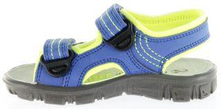 Richter Kinder Sandaletten Outdoor blau Lederdeck Jungen-Schuhe 8101-141-6901 Adventure – Bild 7