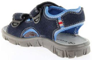 Richter Kinder Sandaletten Outdoor blau Lederdeck Jungen Schuhe 8105-142-7201 Adventure – Bild 5