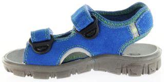 Richter Kinder Sandaletten Outdoor blau Lederdeck Jungen Schuhe 8105-141-6911 Adventure – Bild 7