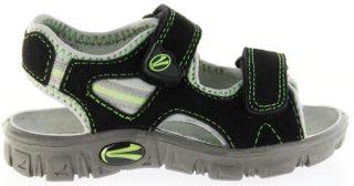 Richter Kinder Sandaletten Outdoor schwarz Lederdeck Jungen-Schuhe 8105-141-9901 Adventure – Bild 2