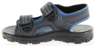 Richter Kinder Sandaletten Outdoor blau Lederdeck Jungen-Schuhe 8101-141-7201 Adventure – Bild 7