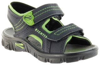 Richter Kinder Sandaletten Outdoor blau Lederdeck Jungen Schuhe 8101-141-7202 Adventure – Bild 1