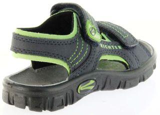 Richter Kinder Sandaletten Outdoor blau Lederdeck Jungen Schuhe 8101-141-7202 Adventure – Bild 3