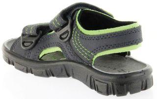 Richter Kinder Sandaletten Outdoor blau Lederdeck Jungen-Schuhe 8101-141-7202 Adventure – Bild 5