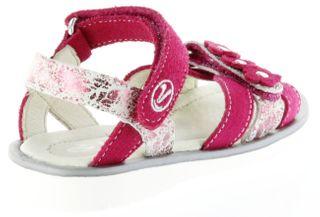 Richter Kinder Sandaletten pink Velour Mädchen-Schuhe 5801-142-3500 Levia – Bild 3