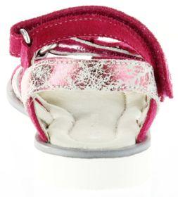 Richter Kinder Sandaletten pink Velour Mädchen-Schuhe 5801-142-3500 Levia – Bild 4