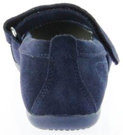 Richter Kinder Ballerinas blau Velour Klett Mädchen-Schuhe 3412-141-7200 Adele – Bild 4