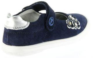 Richter Kinder Ballerinas-Spangenschuh Leder blau Mädchen-Schuhe 3010-141-7201 Dandi – Bild 3
