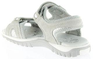 Richter Kinder Sandaletten grau Velour Neopren Mädchen Schuhe 5102-141-6102 Motion – Bild 5