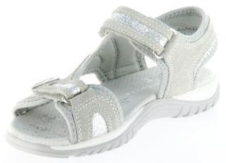 Richter Kinder Sandaletten grau Velour Neopren Mädchen Schuhe 5102-141-6102 Motion – Bild 8