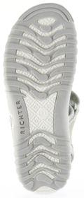 Richter Kinder Sandaletten grau Velour Neopren Mädchen Schuhe 5102-141-6102 Motion – Bild 6