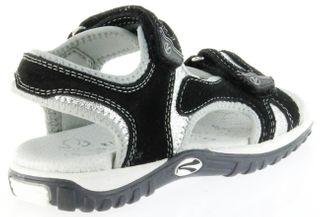 Richter Kinder Sandaletten schwarz Velour Neopren Mädchen-Schuhe 5102-141-9901 Motion – Bild 3