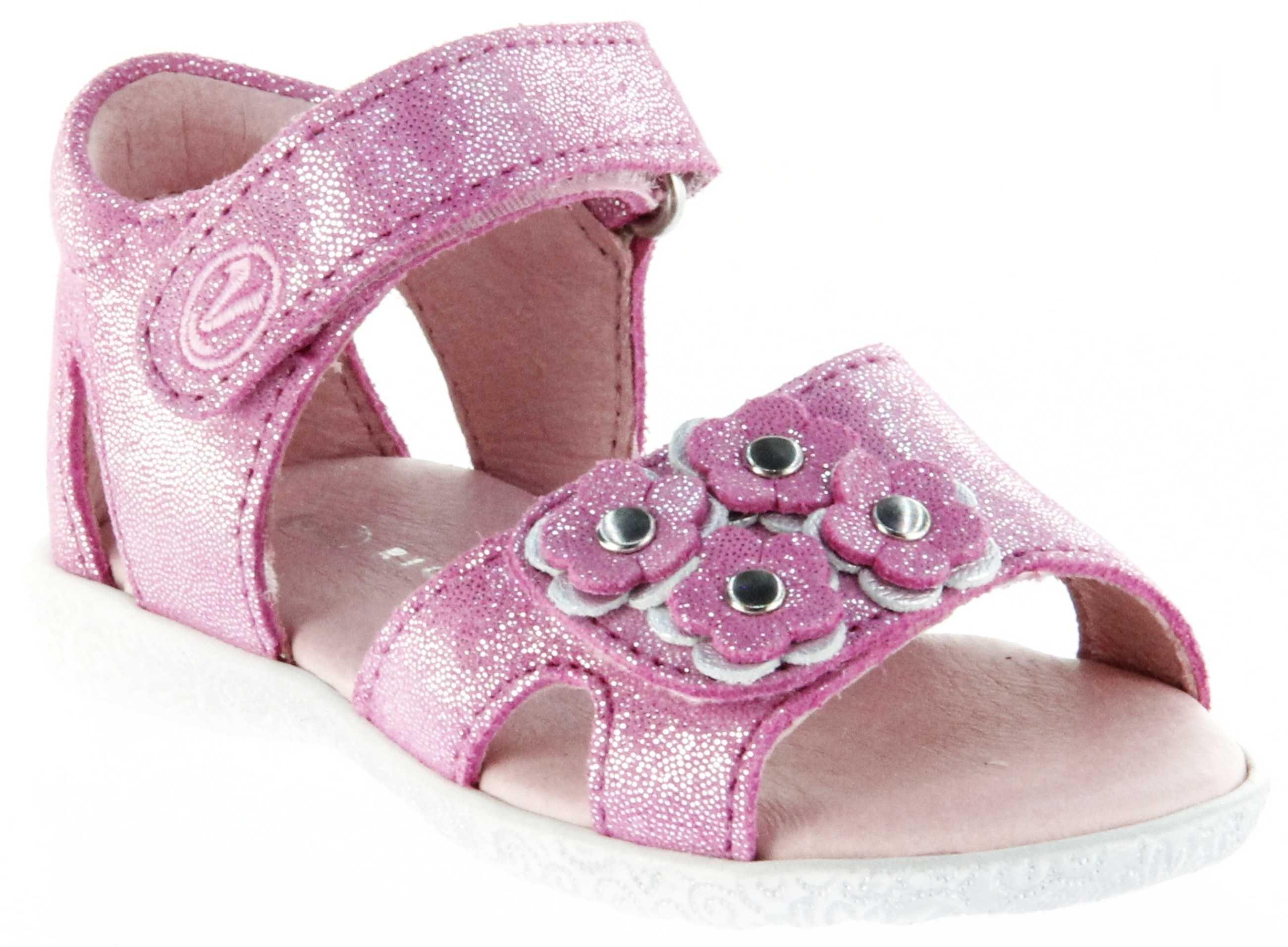 buy popular 09282 efeaf Richter Kinder Lauflerner-Sandalen pink Glitzerverlour Mädchen Schuhe  2201-143-3701 Sissi S