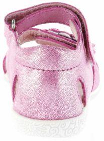 Richter Kinder Lauflerner-Sandalen pink Glitzerverlour Mädchen Schuhe 2201-143-3701 Sissi S – Bild 4
