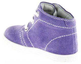 Richter Kinder Lauflerner Velourleder lila Mädchen-Schuhe 0126-141-4000 lavender Sing – Bild 5