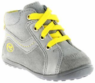 Richter Kinder Minis grau Velourleder Jungen Schuhe 0028-141-6101 rock Mini – Bild 1