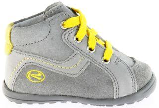 Richter Kinder Minis grau Velourleder Jungen-Schuhe 0028-141-6101 rock Mini – Bild 2