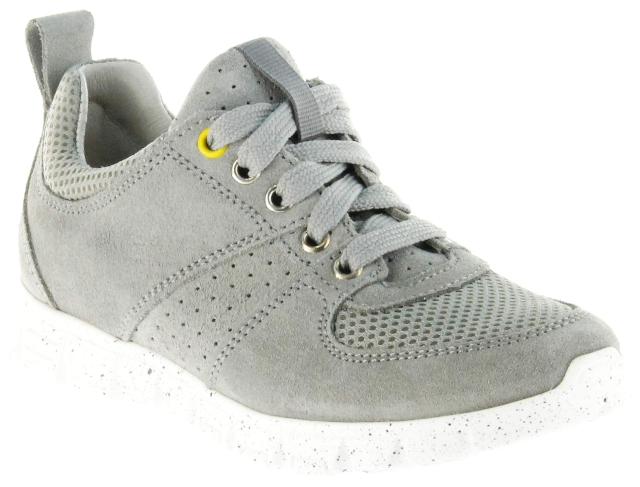 Richter Kinder Halbschuhe Sneaker grau Velourleder Jungen Schuhe 6622 141 6101 rock Run