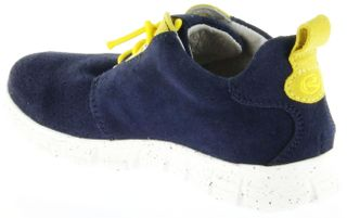 Richter Kinder Halbschuhe Sneaker blau Velourleder Jungen-Schuhe 6623-141-7202 atlantic Run – Bild 5