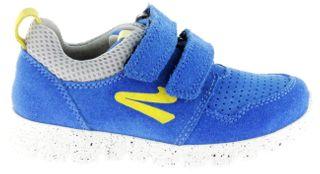 Richter Kinder Halbschuhe Sneaker blau Velourleder Jungen Schuhe 6631-141-6911 lagoon Run – Bild 2