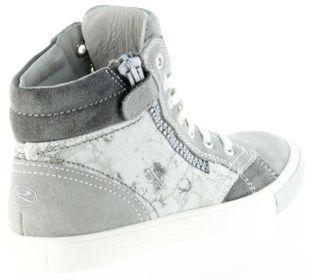Richter Kinder Halbschuhe Sneaker grau Velour Mädchen Schuhe 3145-141-6101 rock WMS Fedora – Bild 3