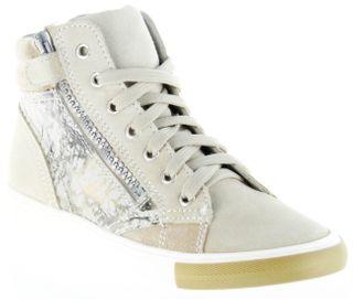 Richter Kinder Halbschuhe Sneaker beige Velour Mädchen Schuhe 3145-141-0301 papyrus WMS Fedora – Bild 1