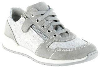 Richter Kinder Halbschuhe Sneaker grau Leder Mädchen Schuhe 3321-141-6100 rock Volley
