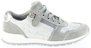 Richter Kinder Halbschuhe Sneaker grau Leder Mädchen Schuhe 3321-141-6100 rock Volley – Bild 2