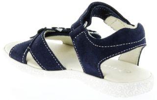 Richter Kinder Sandaletten blau Velourleder Mädchen Schuhe 5004-141-7201 atlantic Sissi S – Bild 5
