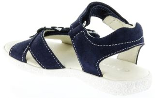 Richter Kinder Sandaletten blau Velourleder Mädchen-Schuh 5004-141-7201 atlantic Sissi S – Bild 5