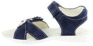 Richter Kinder Sandaletten blau Velourleder Mädchen-Schuh 5004-141-7201 atlantic Sissi S – Bild 7
