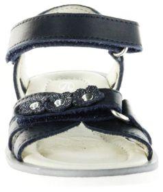 Richter Kinder Sandaletten blau Glattleder Mädchen-Schuhe 5801-143-7200 atlantic Levia – Bild 9