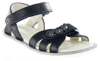 Richter Kinder Sandaletten blau Glattleder Mädchen-Schuhe 5801-143-7200 atlantic Levia