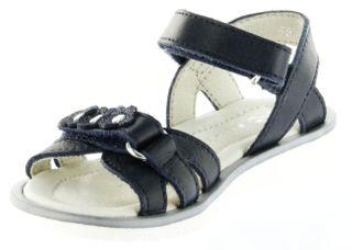 Richter Kinder Sandaletten blau Glattleder Mädchen-Schuhe 5801-143-7200 atlantic Levia – Bild 8