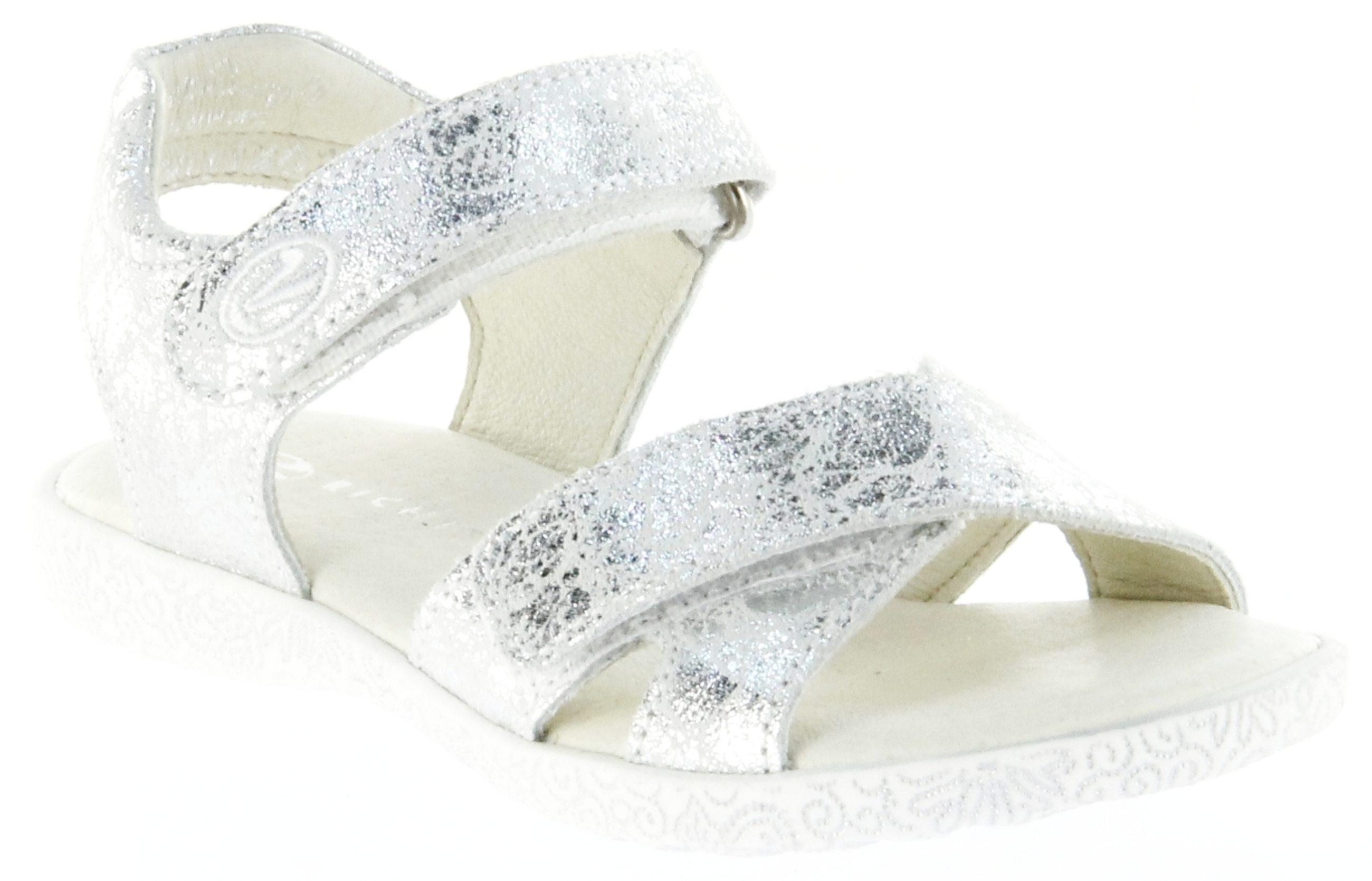 aktuelles Styling außergewöhnliche Auswahl an Stilen und Farben Größe 40 Richter Kinder Sandaletten silber Leder Mädchen Schuhe 5004-144-0200 silver  Sissi S