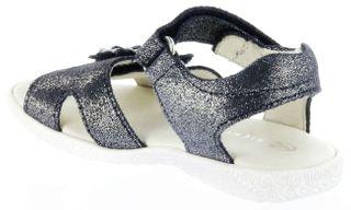 Richter Kinder Sandaletten blau Glitzervelour Mädchen Schuhe 5006-142-7202 atlantic Sissi S – Bild 5
