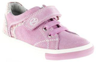 Richter Kinder Halbschuhe pink Velourleder Mädchen Schuhe 3133-142-3111 candy Fedora – Bild 1