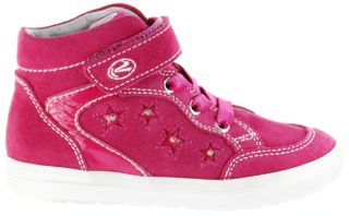 Richter Kinder Blinkies Sneaker pink Velourleder Mädchen Schuhe 4442-142-3500 fuchsia Ilva – Bild 2