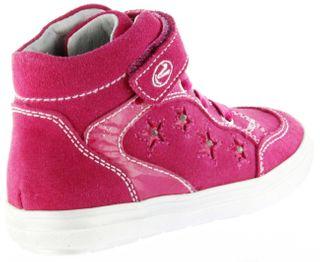 Richter Kinder Blinkies Sneaker pink Velourleder Mädchen-Schuhe 4442-142-3500 fuchsia Ilva – Bild 3