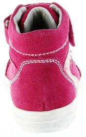 Richter Kinder Blinkies Sneaker pink Velourleder Mädchen-Schuhe 4442-142-3500 fuchsia Ilva – Bild 4
