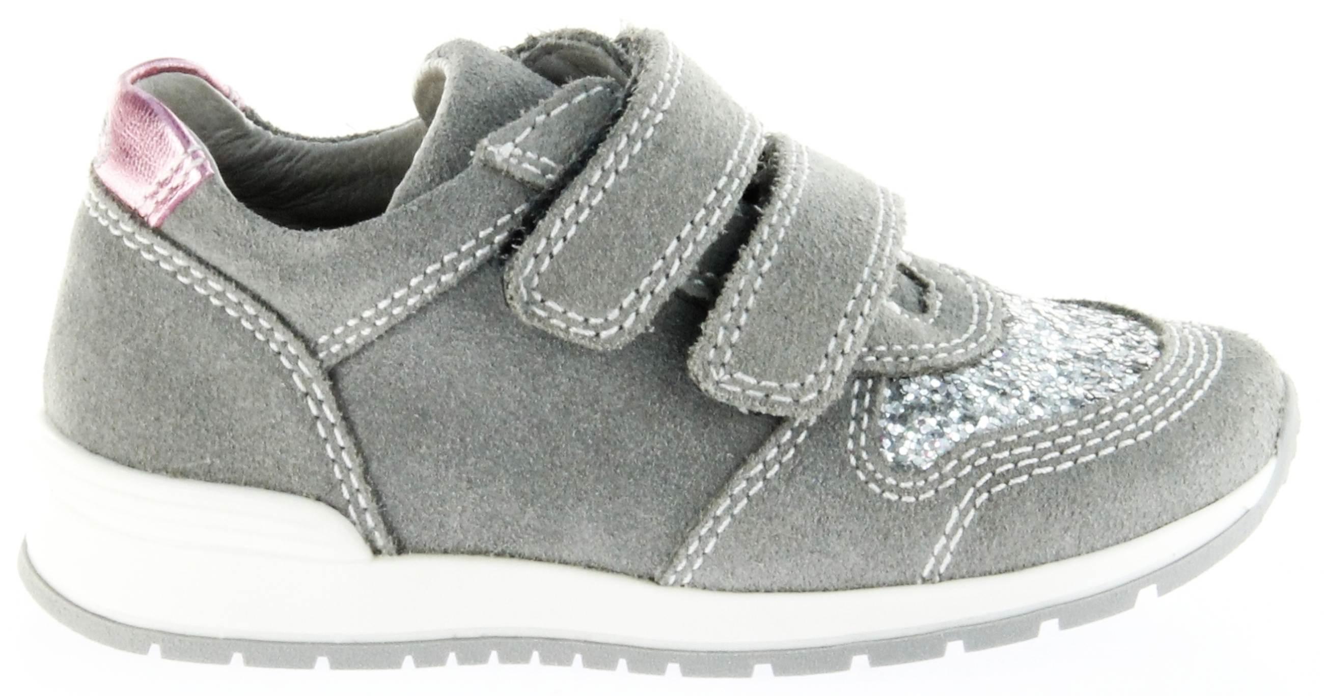 Richter Kinder Halbschuhe Sneaker grau Leder Mädchen Schuhe 3331 141 6101 rock Volley